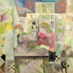 Exposition «Jacques El-Khaddar, une vie de peinture» à la Maisonnée St François à Blois