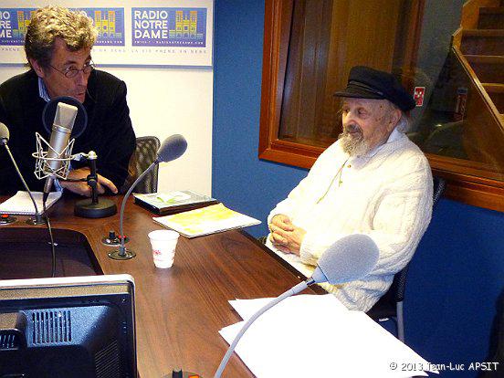 Interview pour  Radio Notre-Dame