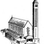 La basilique, la crypte et le peintre
