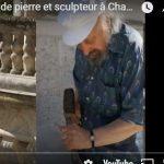 Jacques El-Khaddar tailleur de pierres et sculpteur à Chambord