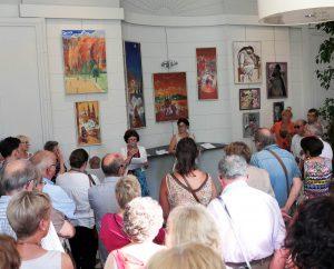 Les œuvres de J. El-Khaddar à l'Hôtel de Ville de Blois