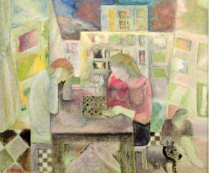"""Exposition """"Jacques El-Khaddar, une vie de peinture"""" à la Maisonnée St François à Blois"""